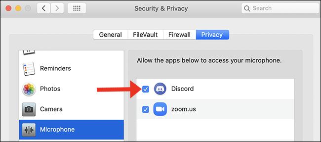 pantalla de micrófono de accesibilidad mac
