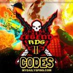 Códigos Legend Rpg 2 Octubre 2021 (NUEVO)