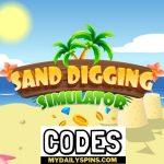 Códigos del simulador de excavación de arena Octubre de 2021 (NUEVO)
