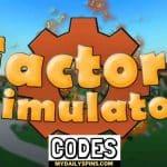 Códigos del simulador de fábrica de Roblox Octubre 2021 (NUEVO)